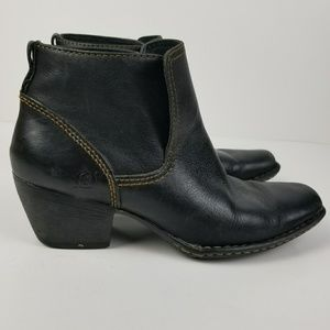 Born Rascal leather ankle boots